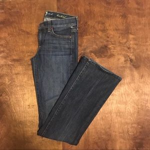 7 For all of Mankind Classic Bootcut Jeans